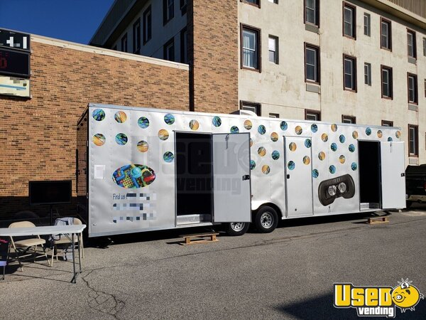 2019 8.5 X 32 Ta Party / Gaming Trailer Air Conditioning Michigan for Sale