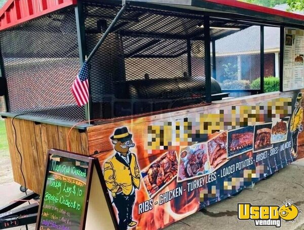 2019 Barbecue Concession Trailer Barbecue Food Trailer Texas for Sale