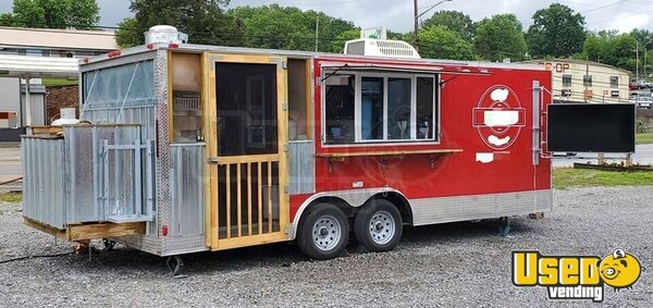 2019 Catering And Kitchen Food Concession Trailer Kitchen Food Trailer Tennessee for Sale
