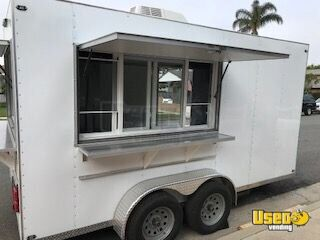 2019 C&w 7-1-3.5vt2 Coffee Trailer Air Conditioning California for Sale - 2