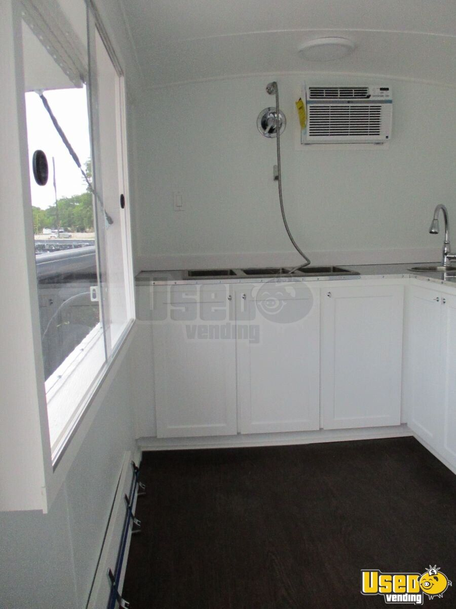 2019 Food Concession Trailer Concession Trailer Exterior Customer Counter Texas for Sale - 5