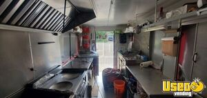 2019 Food Concession Trailer Kitchen Food Trailer Diamond Plated Aluminum Flooring Texas for Sale
