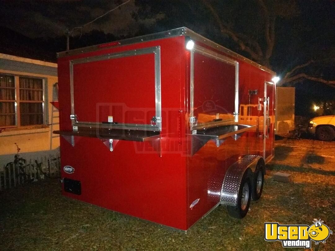2019 Freedom All-purpose Food Trailer Concession Window Florida for Sale - 2
