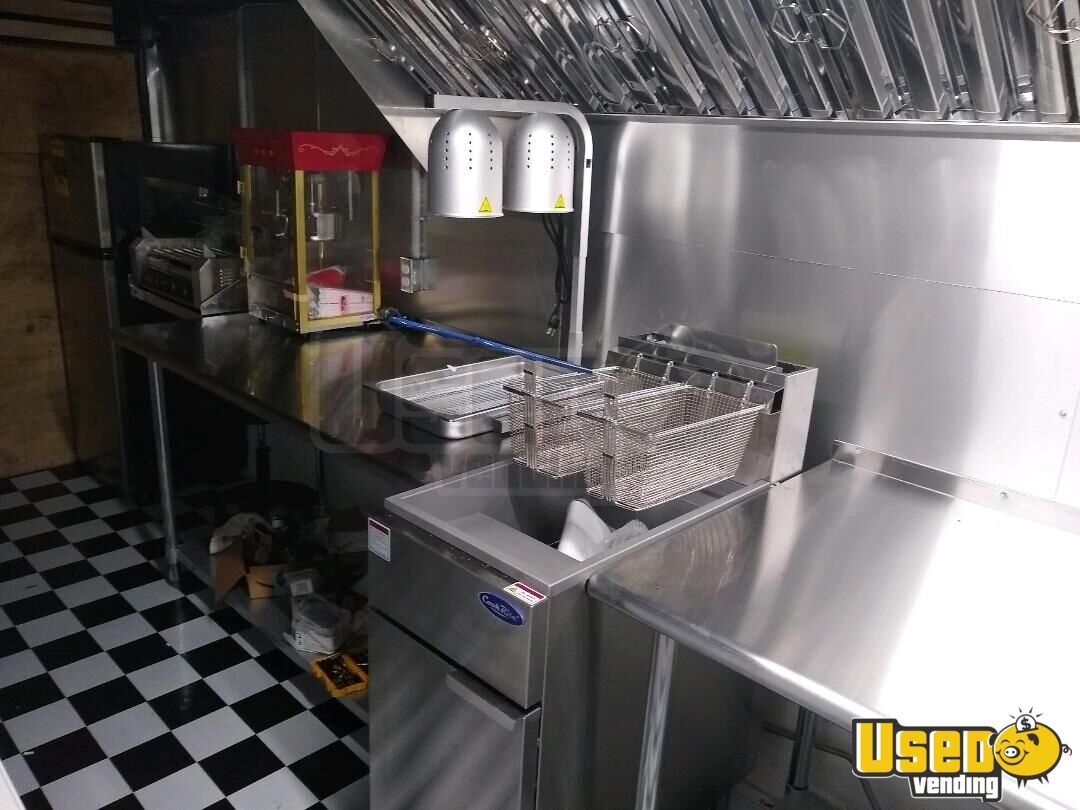 2019 Freedom Kitchen Food Trailer Exhaust Hood Florida for Sale - 12