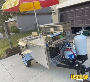 2019 Hot Dog Concession Cart Food Cart Flat Grill Florida for Sale