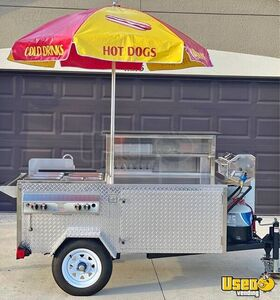 2019 Hot Dog Concession Cart Food Cart Florida for Sale