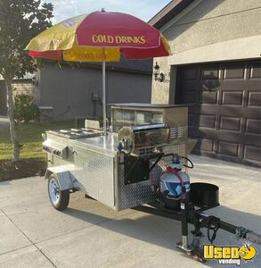 2019 Hot Dog Concession Cart Food Cart Propane Tanks Florida for Sale