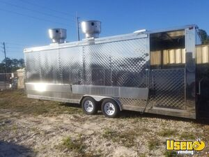 2019 Kitchen Food Concession Trailer Kitchen Food Trailer Removable Trailer Hitch Florida for Sale