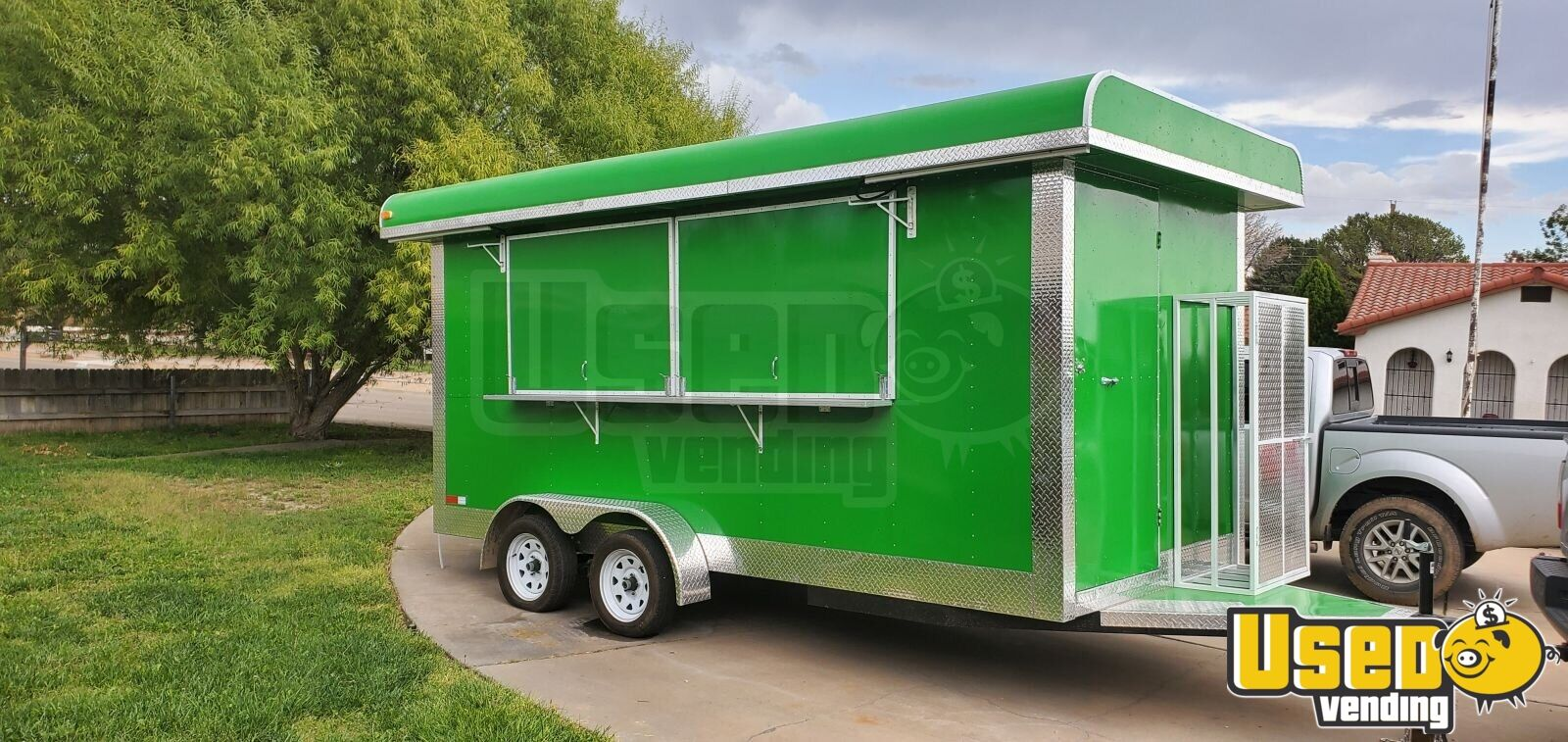 2019 Kitchen Food Trailer Air Conditioning New Mexico for Sale - 2