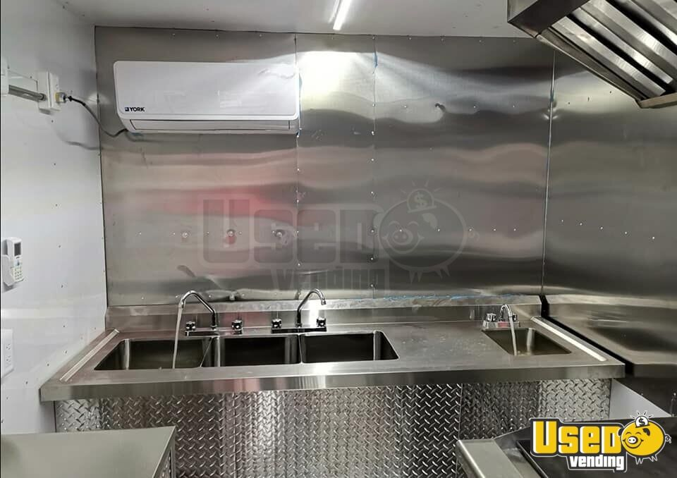 2019 Kitchen Food Trailer Exhaust Hood New Mexico for Sale - 9