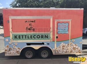 2019 Mobile Kettle Corn Business Concession Trailer Concession Window Texas for Sale