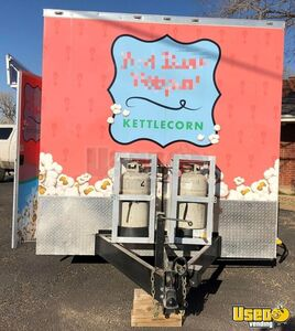 2019 Mobile Kettle Corn Business Concession Trailer Insulated Walls Texas for Sale