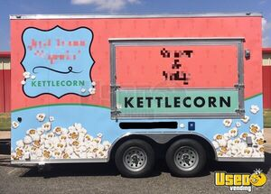 2019 Mobile Kettle Corn Business Concession Trailer Spare Tire Texas for Sale