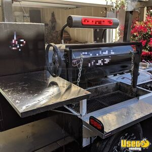 2019 Open Barbecue Smoker Tailgating Trailer Open Bbq Smoker Trailer Fresh Water Tank California for Sale