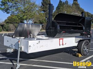 2019 Open Barbecue Smoker Tailgating Trailer Open Bbq Smoker Trailer Hand-washing Sink California for Sale