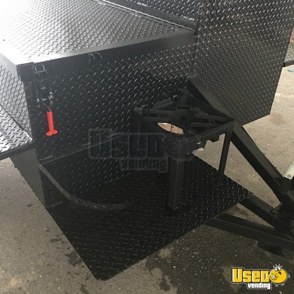 2019 Open Bbq Smoker Trailer 14 Alabama for Sale - 14