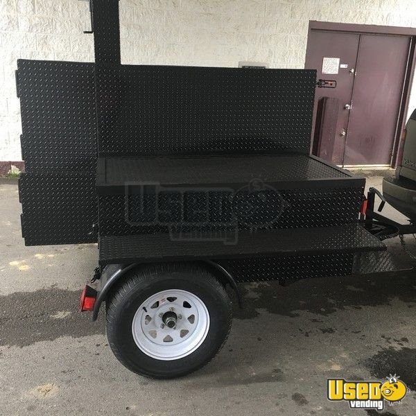 2019 Open Bbq Smoker Trailer Additional 1 Alabama for Sale - 7