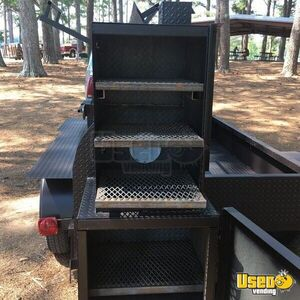 2019 Open Bbq Smoker Trailer Additional 3 Alabama for Sale