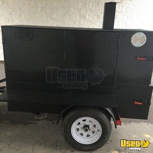 2019 Open Bbq Smoker Trailer Warming Cabinet Alabama for Sale