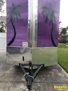 2019 Shaved Ice Concession Trailer Snowball Trailer Cabinets North Carolina for Sale