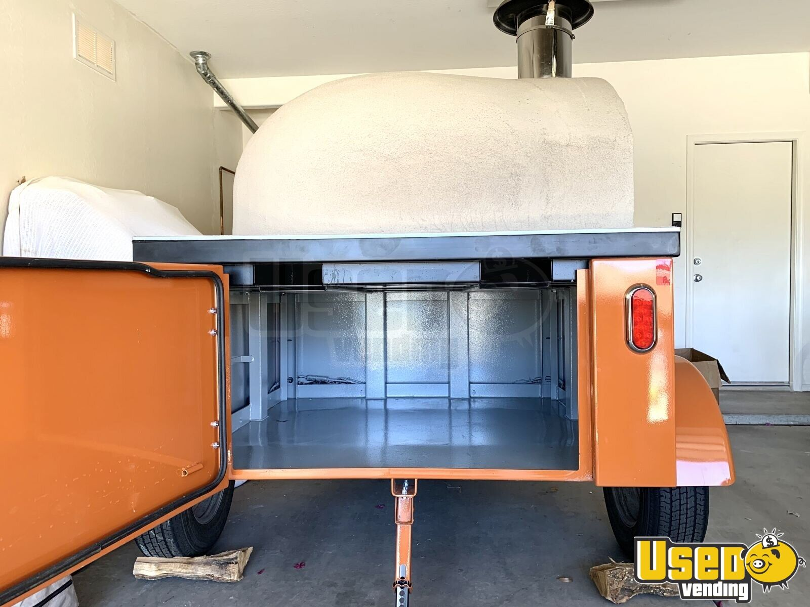 2019 Tailgate Wood-fired Pizza Concession Trailer Pizza Trailer Pizza Oven Arizona for Sale - 3