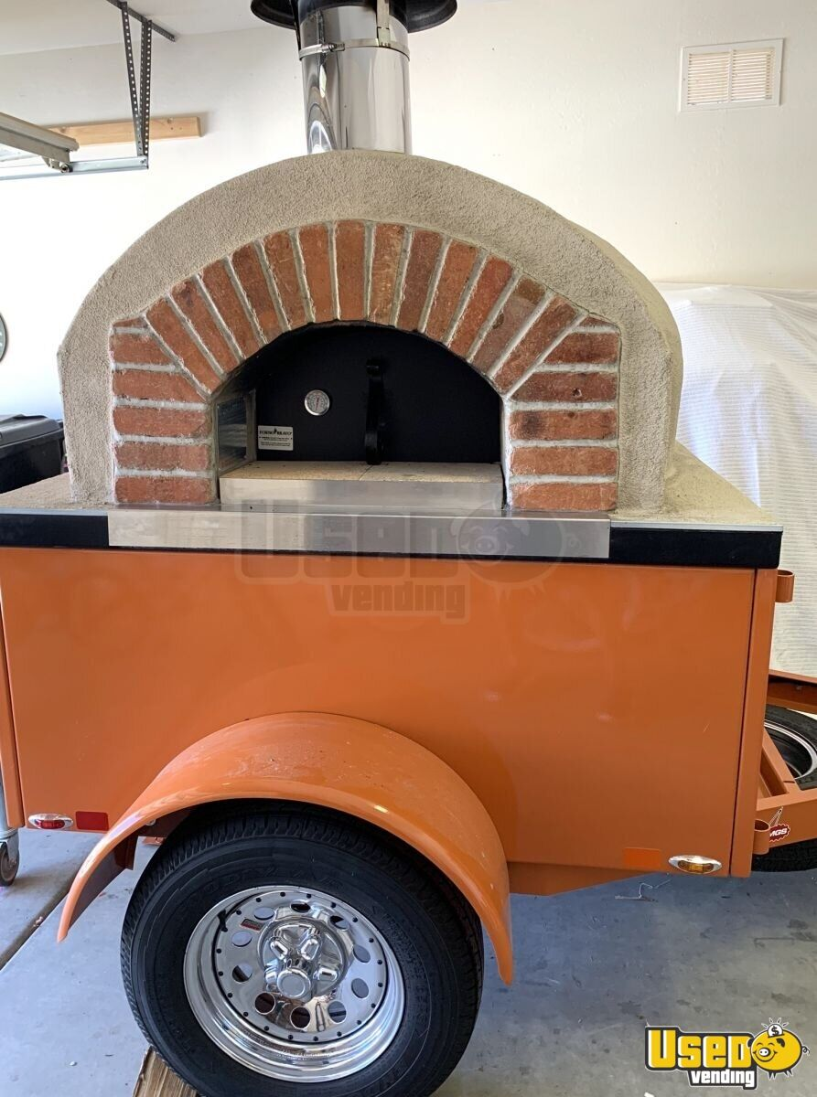 2019 Tailgate Wood-fired Pizza Concession Trailer Pizza Trailer Spare Tire Arizona for Sale - 2