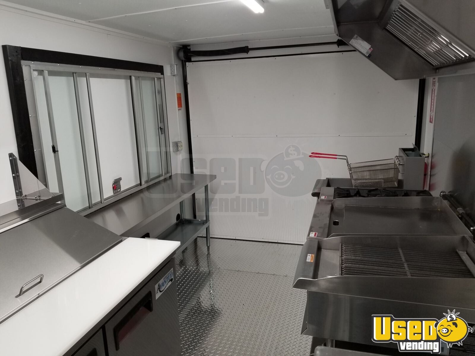 2019 Us Cargo Concession Trailer Steam Table Pennsylvania for Sale - 12