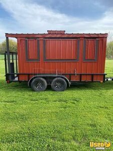 2019 Ut831423 Empty Food Concession Trailer Concession Trailer Concession Window Illinois for Sale