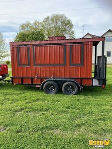 2019 Ut831423 Empty Food Concession Trailer Concession Trailer Spare Tire Illinois for Sale