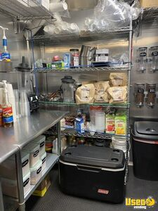 2020 Cargo Elite Coffee Concession Trailer Beverage - Coffee Trailer Deep Freezer Kansas for Sale