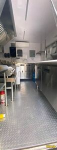 2020 Food Concession Trailer Concession Trailer Stainless Steel Wall Covers Florida for Sale