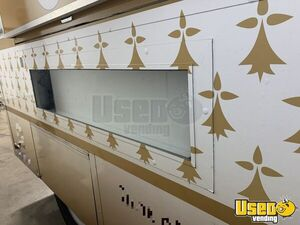 2020 H-s11 Ice Cream Concession Trailer Ice Cream Trailer Stainless Steel Wall Covers Texas for Sale