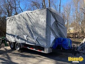 2020 Rs7162 Barbecue Concession Trailer Barbecue Food Trailer Concession Window Maryland for Sale