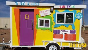 2020 Shaved Ice Concession Trailer Snowball Trailer Air Conditioning Texas for Sale