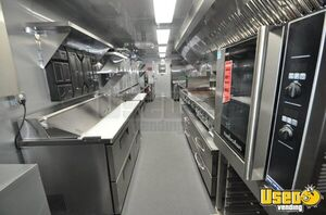 2020 Tubular Body Kitchen Concession Trailer Kitchen Food Trailer Floor Drains Michigan for Sale
