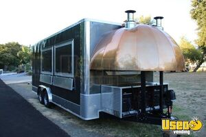 2020 Woord-fired Pizza Concession Trailer Pizza Trailer Air Conditioning California for Sale