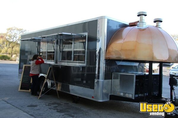 2020 Woord-fired Pizza Concession Trailer Pizza Trailer California for Sale