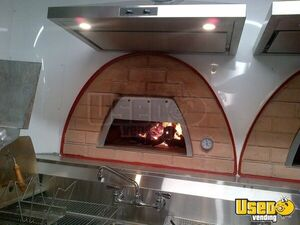2020 Woord-fired Pizza Concession Trailer Pizza Trailer Diamond Plated Aluminum Flooring California for Sale