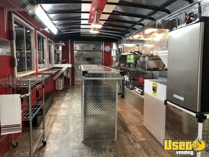 2021 Deluxe Kitchen Concession Trailer Kitchen Food Trailer Concession Window Ohio for Sale