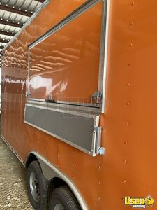 2021 Enclosed Cargo Food Concession Trailer Kitchen Food Trailer Cabinets Texas for Sale