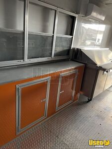 2021 Enclosed Cargo Food Concession Trailer Kitchen Food Trailer Exhaust Hood Texas for Sale