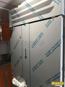 2021 Enclosed Cargo Food Concession Trailer Kitchen Food Trailer Salamander / Overhead Broiler Texas for Sale
