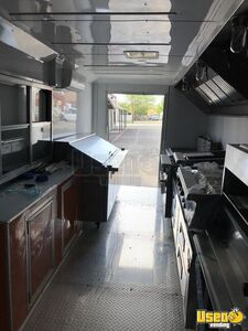 2021 Enclosed Cargo Food Concession Trailer Kitchen Food Trailer Upright Freezer Texas for Sale