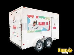2021 Ice Cream Concession Trailer Ice Cream Trailer Floor Drains Florida for Sale
