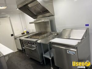 2021 Kitchen Food Concession Trailer Kitchen Food Trailer Stainless Steel Wall Covers Idaho for Sale