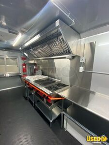 2021 Kitchen Food Trailer Exterior Customer Counter Florida for Sale