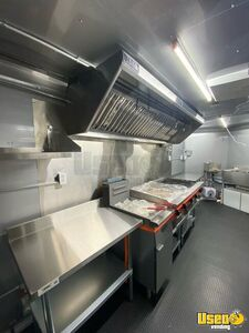 2021 Kitchen Food Trailer Stainless Steel Wall Covers Florida for Sale