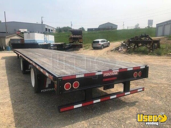 2021 Velocity 53x102 Steel Drop Deck Semi Trailer Flatbed Trailer Alabama for Sale