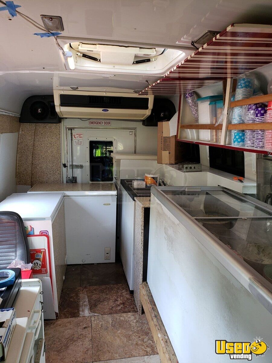 3500 Ice Cream Truck Deep Freezer New York Gas Engine for Sale - 6