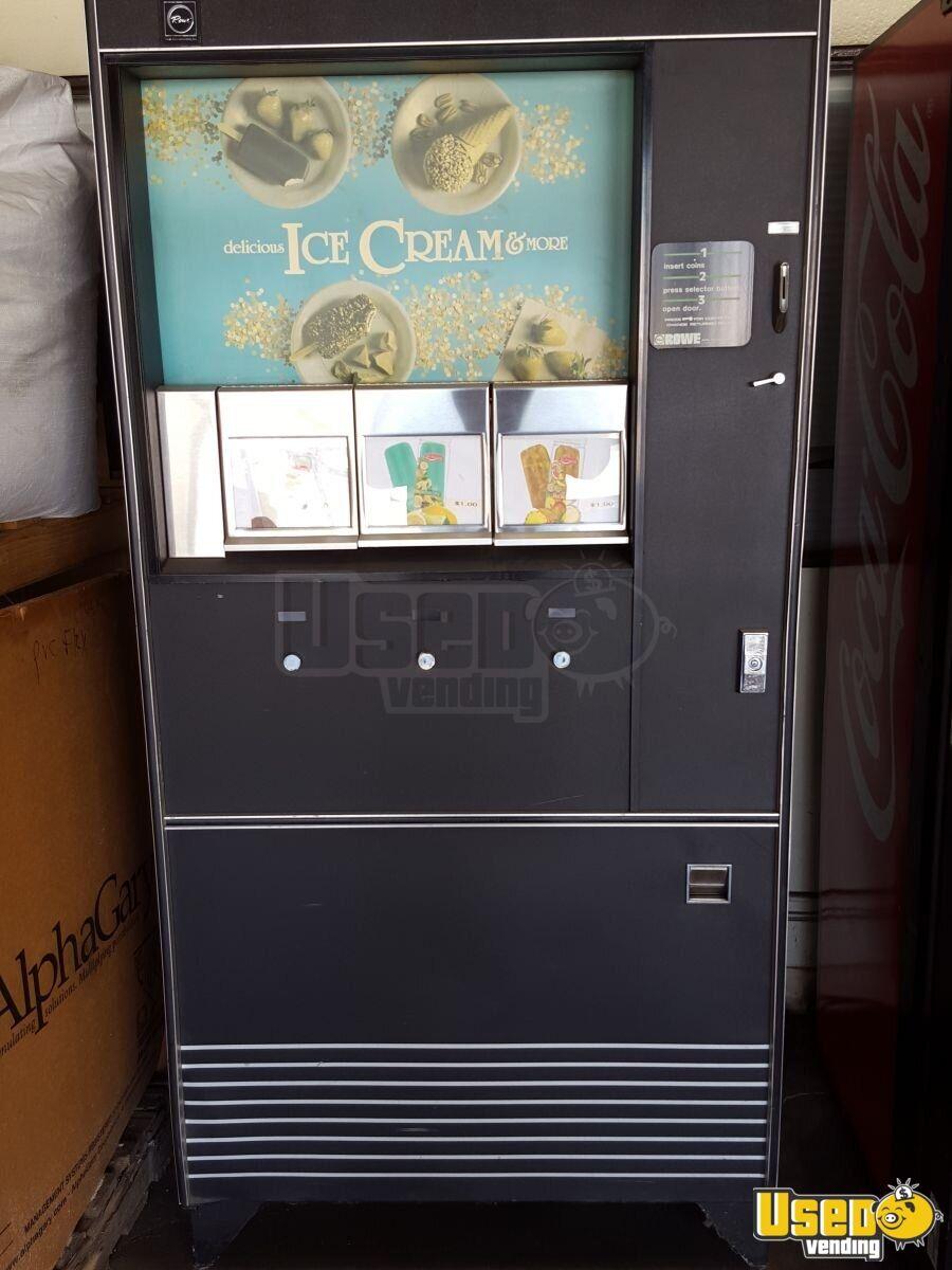 Rowe 487 Ice Cream Frozen Vending Machine For Sale In